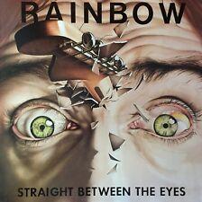 RAINBOW Straight Between The Eyes LP with Inner sleeve1982 Original