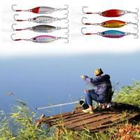 Shore Cast Fishing Lure Langsam schütteln Langsam Jig 10g Köder Köder Z4U0