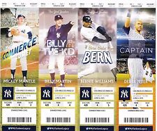 2015 NEW YORK YANKEES VS LOS ANGELES ANGELS Ticket Stub 6/6 MIKE TROUT HR