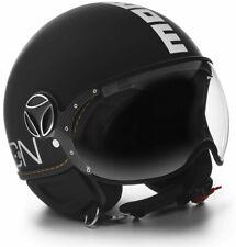 Helmet Momo Design Fighter Evo Black Matt - White Size M/L