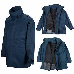 Genuine British RAF Blue MVP Waterproof Wet Weather Jacket Lined / Unlined
