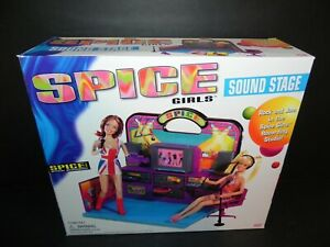 GALOOB SPICE GIRLS SOUND STAGE NEW in SEALED BOX from 1998 - MINT  - Free Ship!