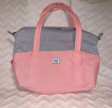 Herschel Supply Co. Extra Small Strand Duffel Bag Peach/Light Grey Unused