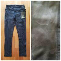 New 90 DEGREE Black Camouflage Women's M Medium Mesh Ankle Yoga Pants $88