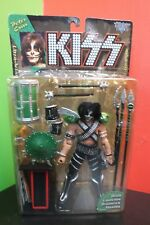 KISS Peter Criss Ultra Action Figure McFarlane 1997 Missile launching drum!
