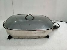 Electric Skillet, Model CSK-Model 168948 skillet, non-stick counter top