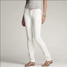 J. Crew Matchstick White Skinny Jeans