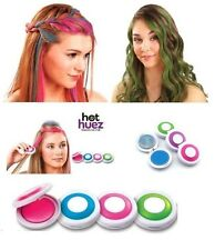 Colorante in gesso istantaneo per capelli HOT HUEZ 4 pezzi colori pastello
