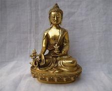 Big tibet Tibetan brass Medicine Buddha Statue