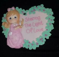Precious Moments Sharing The Light of Love Ornament or Wall Decoration