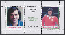 Palatine (Fantasy) 2578 - George Best - Football Hero sheetlet