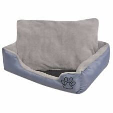 Vidaxl cama para perro con Cojín acolchado talla XXL gris