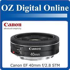 New Canon EF 40mm f/2.8 F2.8 STM Lens 650D 60D 7D 5D 1 Year Au Wty