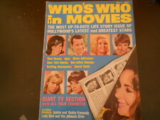Elizabeth Taylor, The Beatles, Jean Harlow - Who's Who In Movies Magazine 1964