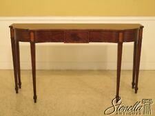 L45678: HENKEL HARRIS #5766 Mahogany Console Table ~ NEW