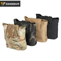 IDOGEAR Tactical Dump Pouch MOLLE Mag Drop Pouch Folding Recycling Bag Hunting