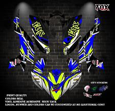 Yamaha YFZ 450 decal  graphics kit 2003 2004 2005 2006 2007 2008