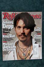 Rolling Stone Magazine - Johnny Depp #967 February 10, 2005