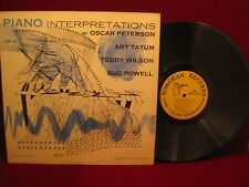 Piano Interpretations, Norgran Records, MGN-1036 Peterson, Tatum, Wilson, Powell