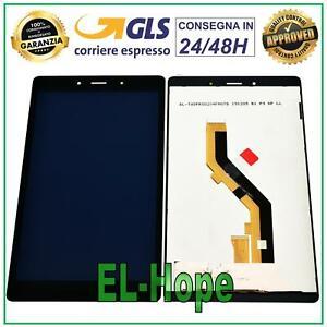 DISPLAY LCD SAMSUNG GALAXY TAB A 8.0 SM-T295 3G TOUCH SCREEN VETRO MONITOR NERO