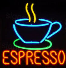 "New Espresso Coffee Tea Cup Bar Neon Light Sign 17""x14"""