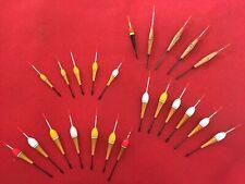 ANCIENS BOUCHONS POUR LA PECHE - DIFF DIMENS 10,5/11//12/14/15...(23 BOUC NEUFS)