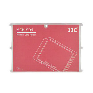 Memory Card Holders fits 2 SD Cards + 4 Micro JJC MCH-SDMSD6CN CASE