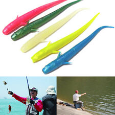 10pcs 70mmSilicone Lure Fishing Soft Bait Worm artificial Carp Fishing Tackle P9