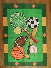 Sports, Teams, Tennis, Soccer, Football, Baseball Basketball applique House flag