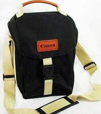 CANON Compact Camera Bag w.Pocket~SLR +Lens & Accesories Film~Digital BLACK +TAN