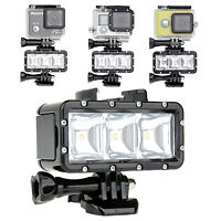 Waterproof LED Light Diving Lamp with Battery for GoPro HERO 9 8 7 6 5 4 3 2 1