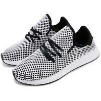 adidas Originals Deerupt Runner Black White Men Running Casual Shoes CQ2626