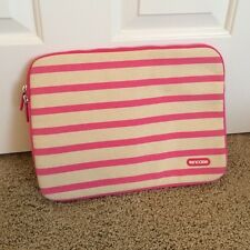 "Incase Stripe Canvans Sleeve Case for MacBook Pro 13"" Pop Pink"
