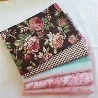 50*160CM Baumwolle Nähen Stoff Rose Patchwork DIY Baby Kleidung Tischdecke Dekor