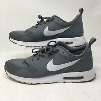 Nike Air Max Tavas Mens Athletic Running Shoes Low Top Logo 705149-021 Gray 11.5