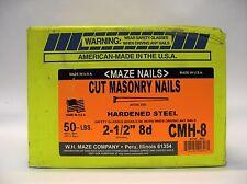 Cut Hardened Masonry Nails