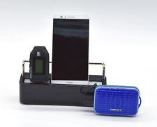 Multi Ladestation MayaMax Le family Schwarz incl. 3 x Micro-USB-Stecker
