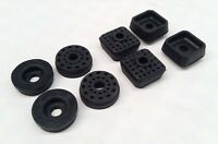 MAZDA RX2 CAPELLA ENGINE CHASSIS CROSS MEMBER MOUNT MOUNTING RUBBERS SET 8PCS