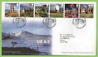 G.B. 2011 UK Views G - L, on Royal Mail First Day Cover, Tallents House