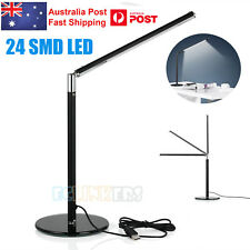 24 LEDs Table Desk Lamp Rotatable Study Reading USB Adjustable Light AU Stock
