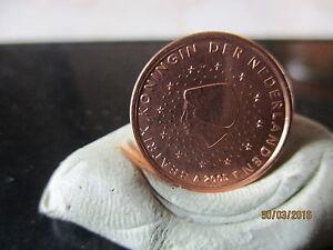 LOT DE 3 PIECES  1 CENT- 2 CENT - 5 CENT PAYS BAS 2005  FDC