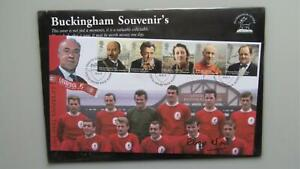 2013 Buckingham Covers - A Tribute to Bill Shankly - Roger Hunt Signed Cover