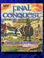 Final Conquest for Age of Empires PC Big Box Game 1997