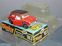 DINKY TOYS MODEL No.183 MINI MINOR  'AUTOMATIC'  VN MIB
