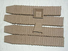 """100- 2 1/4"""" SQUARE JIFFY PEAT POTS for SEED STARTING - GREENHOUSE SUPPLIES"""