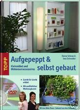 AUFGEPEPPT & SELBST GEBAUT - Wohnraumaccessoires Möbel - Buch + DVD