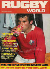 RUGBY WORLD MAGAZINE NOVEMBER 1984 - PERFECT GIFT FOR A FAN BORN IN THIS MONTH