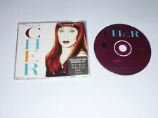CHER - One By One - 1995 UK 3-track CD single