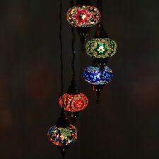 Hängelampe Deckenlampe Orientalische Türkei Mosaiklampe 5 Groß Mosaik Lampen