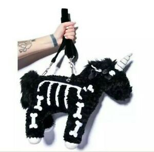 Unicorn Skeleton Purse #LCPS